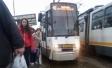 Linia tramvaielor 41 a fost blocată din cauza unei avarii