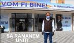 Afaceristul Mohammad Murad a deschis astăzi primul centru de ajutor pentru persoanele defavorizate