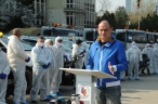 Primarul  sectorului 4 ,Daniel Balută  intensifică activitățile de dezinfecție