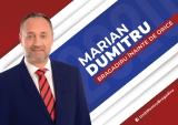 Alege să te implici! A venit vremea schimbării! Candidatul PSD la primăria Oraşului Bragadiru, Marian Dumitru