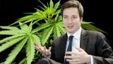 Creierul lui Caramitru Jr,este rău  afumat. Fostul consilier al lui Barna, cere legalizarea marijuanei și a prostituției!