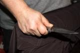 Femeie amenințată cu un cuțit de către un bărbat în capitală