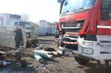 Incendiu puternic la Bragadiru Evenimentul a reprezentat un pericol major a declarat  Marian Grigore, viceprimar cu atribuții de primar al orașului Bragadiru, prezent la fața locului