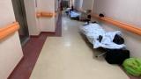 Romania lui Iohannis. La Institutul Balș pacienții nu mai au loc în saloane și primesc oxigen în paturi improvizate pe hol