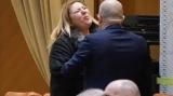 Senatoarea, Diana Șoșoacă îi închide gura Ancăi Dragu și se opune restricțiilor în ședința de plen a Parlamentului
