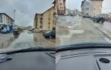 Străzi inundate, copaci rupți și zeci de apeluri la urgențe în Cluj- Napoca