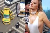 Cântăreața Alexandra Stan a fost implicată într-un accident rutier