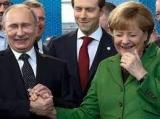 Vladimir Putin și Angela Merkel  satisfăcuți că au finalizat Nord Stream 2