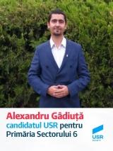 USR si PMP dau  startul campaniei alegerilor locale din 2020.   Alexandru Gâdiuță si Stefan Florescu , vaneaza fotoliul  primarului sectorului 6,Gabriel Mutu