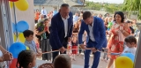 Primarul comunei Adunatii Copaceni, Dan Rusu si senatorul Cristian Marciu au inaugurat grădinița cu program prelungit