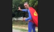 Superman a fost amendat de Polițistii Rutieri din Ilfov