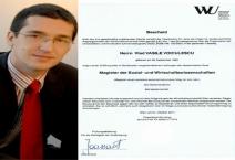 Prosteala încă mai ţine în Românica! DNA a clasat dosarul studiilor lui Vlad Voiculescu: Fapta nu există