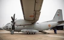 Trei pacienți arși, transportați duminică cu un avion militar în Germania