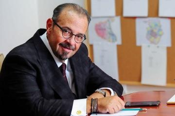 Cristian Popescu Piedone coordonatorul  campaniei electorale a umaniștilor pentru alegerile parlamentare