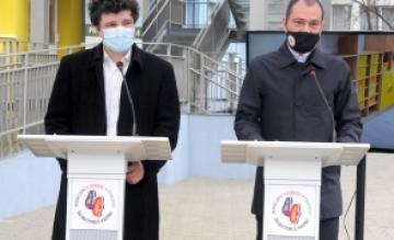 Daniel Băluță și Nicușor Dan au inaugurat o grădiniță pentru 200 de copii, în Sectorul 4.