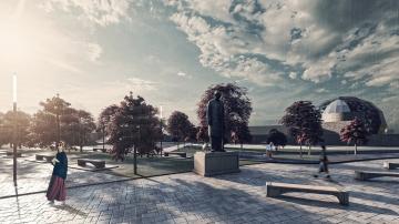 Mega-parc cu teatru și skate-park în locul unui teren viran din sectorul 4