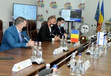 Primarul Sectorului 4, Daniel Băluță , a primit vizita unei delegații a oamenilor de afaceri israelieni, care l-au însoțit în România  pe președinte