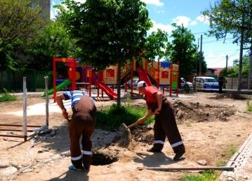 Totul Verde Încă patru parcuri finalizate  în sectorul 4