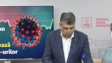 Marcel Ciolacu a fost testat pentru coronavirus.Analizele au ieșit în parametri normali