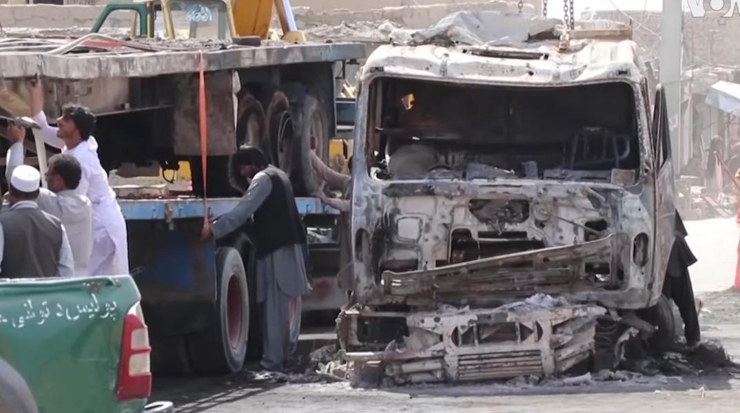 Atac sangeros la Kabul